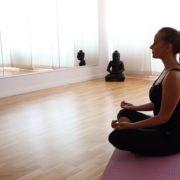 Gruppenraum Prävention Physiotherapie Neuhausen Muenchen Yoga und Pilates Kurse